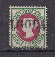Helgoland - 1875/90 - Michel Nr. 14 - Gestempelt - 35 Euro - Heligoland
