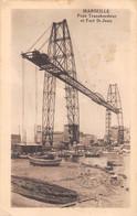 13 - MARSEILLE - Pont Transbordeur Et Fort St-Jean - Joliette, Hafenzone