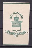 Helgoland - GA 3 PF. - Ungebr. - Heligoland