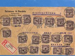 Allemagne Reich 1923 Lettre De Freiburg (G2493) - Storia Postale
