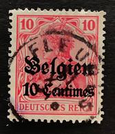 OC3 Gestempeld FLEURUS - [OC1/25] Gouv. Gén.
