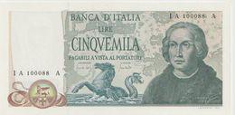 ITALY P. 102a 5000 L 1971 UNC - 5000 Liras