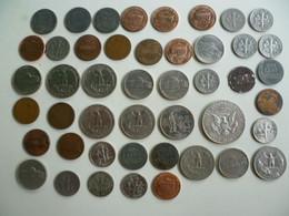Lot De 45 Pièces De Monnaie - US Dollar Coins - Non Classés