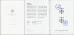 "Bund: Minister Card - Ministerkarte Typ VII, Mi-Nr. 3615 ESST: "" Leuchttürme: - Leuchtfeuer Tinsdal - ""  X - Storia Postale"