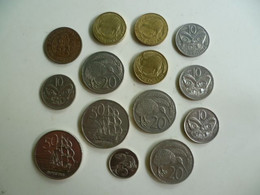 Lot De 14 Pièces De Monnaie - Nouvelle Zélande - New Zealand Dollar - Nieuw-Zeeland