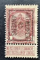 PREO TYPO 18B ANTWERPEN 11 ANVERS - Tipo 1906-12 (Stendardi)