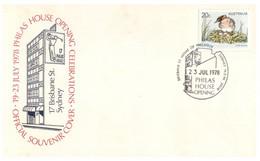 (TT 2) Australia -  Philas House Opening Official FDC - 1978 - Autres