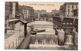 44  - NANTES - L'Erdre - L'Ecluse  (D166) - Nantes