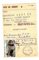48734 - Avis De   Virement - 1961-....