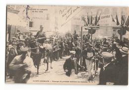 Trés Rare CLC Marche De L'armée En 1904 La Ligne D'arrivée Le Premier Courreur SAINT GERMAIN EN LAYE PARIS N376 ELD - St. Germain En Laye