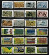 Nouveauté 2021 2 Séries 2021 PAYSAGES Et EMPREINTES Oblitérés - Used Stamps