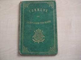 Ancien Carnet De Mariage ST JOSSE TEN NOODE  RADELET R. Et GREUSE C  1906 - Sin Clasificación