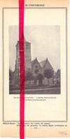 Orig. Knipsel Coupure Tijdschrift Magazine - Blankenberge , Sint Antoniuskerk - 1946 - Europe