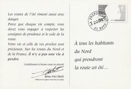 PSEUDO PREFECTURE Du NORD 2001 - SECURITE ROUTIERE - Pseudo-interi Di Produzione Privata