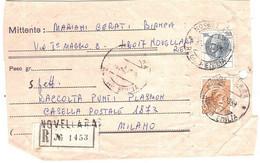 ANNULLO NOVELLARA REGGIO EMILIA - 1961-70: Marcophilia