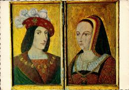 Dep 37 , Cpm LANGEAIS , Le Chateau , H.2.709 , Diptyque Du XVè Siècle ,  Charles VIII Et D'Anne De Bretagne  (29241) - Langeais