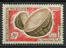 Mauritanie - Mauretanien - Mauritania 1965 Y&T N°189 - Michel N°247 (o) - 8f Instument De Musique - Mauritania (1960-...)