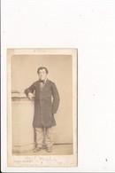 CDV Photo D'homme Notable à Identifier ( Photographe LEON ROSSE Rue Saint Vincent à SAINT MALO 35 Ille Et Vilaine  ) - Anciennes (Av. 1900)