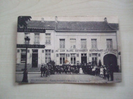 Carte Ancienne Rare  VILVOORDE ETABLISSEMENT D 'HOUWER - Vilvoorde