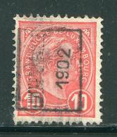 LUXEMBOURG- Y&T N°73- Oblitéré (très Belle Oblitération!!!) - 1895 Adolphe Right-hand Side