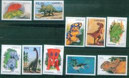 Liberia  1999  Dinosaurs - Liberia