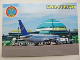 Kazakhstan Nur-Sultan  International Airport Modern PC - Aerodromes