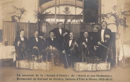 CPA - Genève - Knott Et Son Orchestre Au Restaurant Du Kursaal De Genève - ( Carte Photo ) - GE Genf