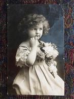 Meisje -Fotokaart - Grete Reinwald Stijl - Verzonden - Portraits