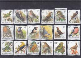 Belgique - Lot De 18 Timbres Oiseaux ** - - Sparrows