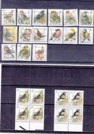 Belgique - Lot De 23 Timbres Oiseaux ** - Preos - Sparrows
