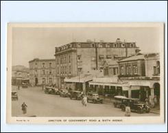 XX14399/ Nairobi Kenia  Government Road & Sixt Avenue AK Ca.1930 - Unclassified