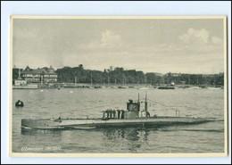 XX13392/ Ubaaden Triton U-Boot Marine  Dänemark AK  - Unterseeboote