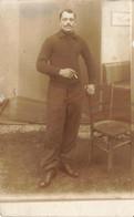 CARTE PHOTO MILITAIRE - Guerra 1914-18