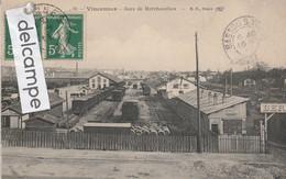 VINCENNES  : Gare De Marchandises,Wagons. - Vincennes