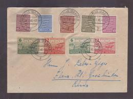 Lettre (Allemagne) Sachsen 1946 Pour Ilanz (CH) - Soviet Zone