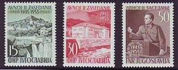 YUGOSLAVIA 735-737,unused - Neufs