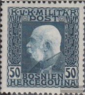 Austria.-Bosnia-herzegovina. 77 With Hinge 1912 Franz Joseph - Nuovi