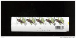 ABD0932 PAAR 3379 Buzin 0.05€ 14/3/2005 Datumstrook Bande Datée - 1985-.. Birds (Buzin)