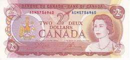 BILLETE DE CANADA DE 2 DOLLARS DEL AÑO 1974 SIN CIRCULAR (BANKNOTE) UNCIRCULATED - Canada