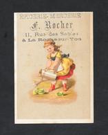 Chromo Epicerie F ROCHER Fillette PERFETTA - Andere