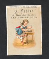 Chromo Epicerie F ROCHER Fillette 2a PERFETTA - Andere
