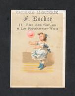 Chromo Epicerie F ROCHER Fillette 3a PERFETTA - Andere