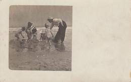 Photo Carte Postale Mer Belge Blankenberge Blankenberghe 1910 - Luoghi