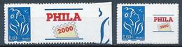 France 2006 - 3966A-3966Aa - Deux Timbres Personnalisés Adhésif Marianne De Lamouche - Neuf - Personnalisés