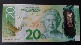 BILLETE DE NUEVA ZELANDA DE 20 DOLLARS DEL AÑO 2016 SIN CIRCULAR (UNCIRCULATED) (BIRD-PAJARO) (BANKNOTE) - New Zealand