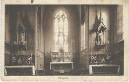 ATH : Collège St Julien - Chapelle - TRES RARE CPA - Cachet De La Poste 1924 - Ath
