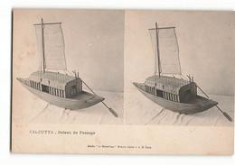 Très Rare ELD  Maquette Du CALCUTTA Bateau De PASSAGE  Stéréo Le Merveilleux Stréréoscopique  E LE DELEY PARIS  N382 - Other