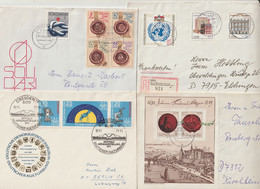 DDR - 5 Bessere Briefe (1340-30) - Covers