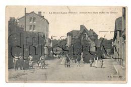 Tassin-la-Demi-Lune (69) : L'avenue De La Gare Et La Rue Céramo Env 1911 (animé) PF. - Andere Gemeenten