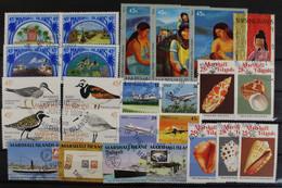Marshall-Inseln, Partie Aus 1989, Gestempelt - Islas Marshall